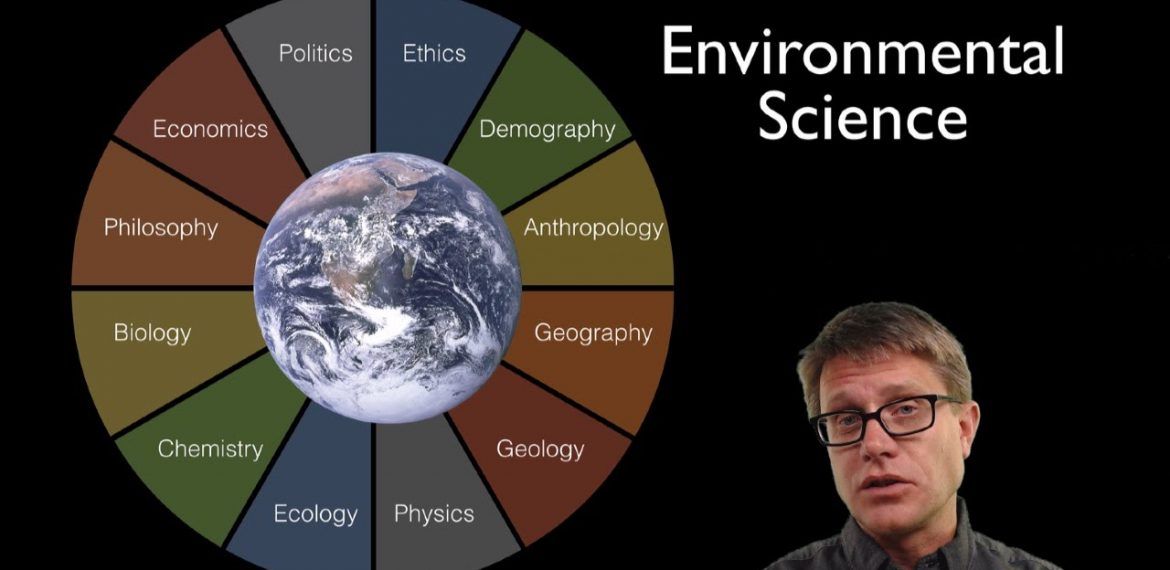 The disciplinary academic field of environmental science